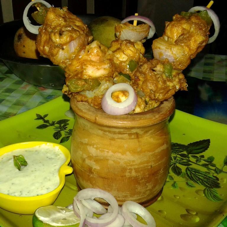 chicken mayonnaise kabab